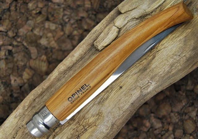 Филейный нож Опинель из оливы Opinel Effile 12 oliva