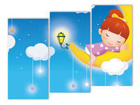 Модульные картины для детской комнаты