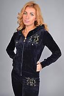 """Женский спортивный велюровый костюм """"Gucci"""", размеры: S, M, L, XL, фото 1"""