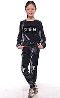 Велюровый детский спортивный костюм 12321