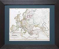 Европа в 1700 году. Карта, начало XIX в.
