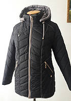 Курточка весенняя женская (большие размеры в наличии)/синяя