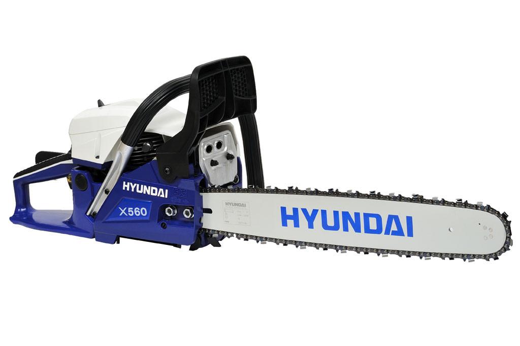 Пила цепная бензиновая Hyundai X 560