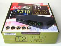 Эфирный цифровой FTA приемник стандарта DVB-T/T2 Satcom T210 PVR с функцией записи