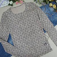 Свитер женский из мягкого вязаного полотна, НОРМА, 100% cotton, Турция. Женские кофточки, свитера, кофты
