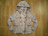 Куртки на девочку на синтепоне и меховой подкладке в остатке , Grace, 14 рр