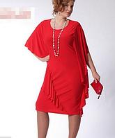 Платье коктейльное для пышных дам.