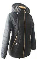 Курточка со стежкой (большие размеры в наличии)/синяя