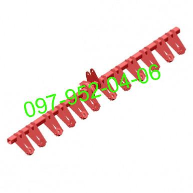 Вал механизма навески сошников (правый,квадрат) СЗ-5,4