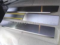 Защита порогов - накладки на пороги Mitsubishi ASX с 2010 г. (Standart)