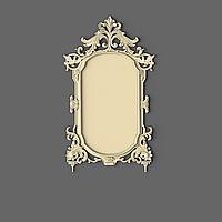 Резная рама из дерева для зеркала