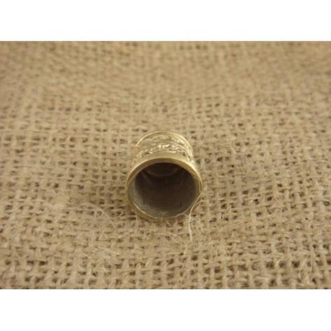 Мельхиоровая оковка для шампура № 1, фото 2