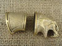 Бронзовый комплект для ножа № 28 Змей