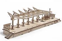 Перрон. Масштабная копия железнодорожной платформы из 196 частей.