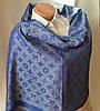 Палантин Louis Vuitton (Луи Витон) синий, фото 5