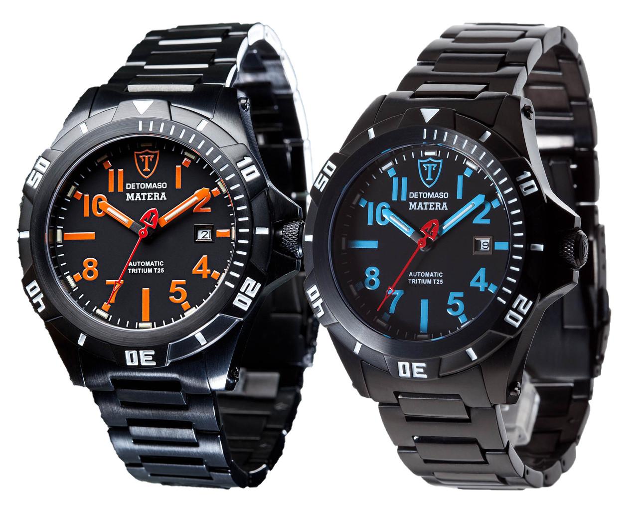 Механические наручные часы Detomaso Matera automatic - 2 варианта