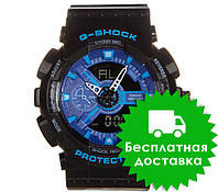 Часы Casio G-Shock GA-110 BLACK BLUE