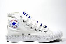 Кеды в стиле Converse all star (White), фото 3