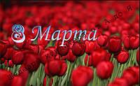 Вафельная картинка 8 МАРТА - 60