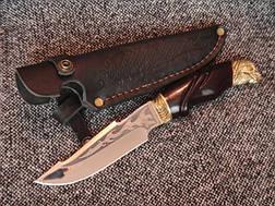 Туристический нож «Череп» №1,(под заказ), фото 3
