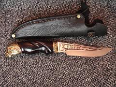 Туристический нож «Череп» №1,(под заказ), фото 2
