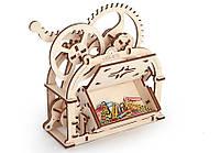 Механическая шкатулка. Конструктор-визитница или шкатулка удивит в офисе и порадует дома. 61 частей.