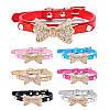 """Ошейник с украшением """" Бантик Сваровски"""" для собак, кошек. Ошейник для животных, фото 3"""