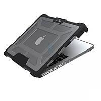 """Противоударная накладка на экран + силиконовая защита тыльной части, Urban Armor Gear - Rugged Case Ash (Transparent) для MacBook Pro Retina 13"""" -"""