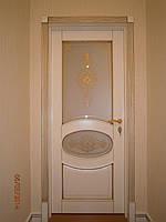 Двері міжкімнатні дерев'яні з ясена, фото 1