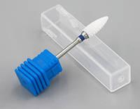 Керамическая коническая фреза для снятия гель лака, средняя жесткость, фото 1