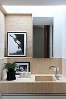 Столешница в ванную комнату из травертина