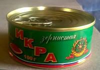 Икра красная сахалинка (горбуша, ж/б 100 гр.)