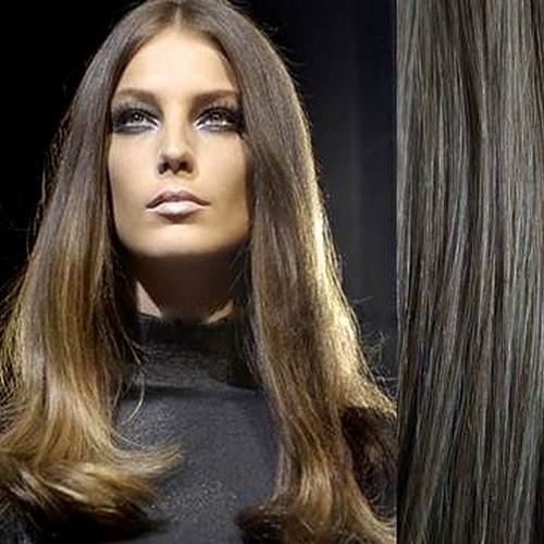 Набор натуральных волос на клипсах 40 см оттенок №10с 120 грамм