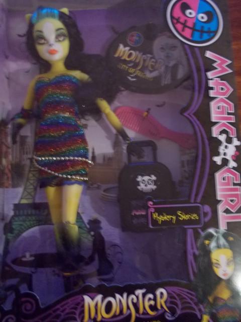 Куклы Monster high(Magic girl)