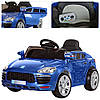 Детский электромобиль Porsche M 3272 EBLRS-4: 2.4G, EVA, 8 км/ч, кожа  - Синий-Покраска -купить оптом