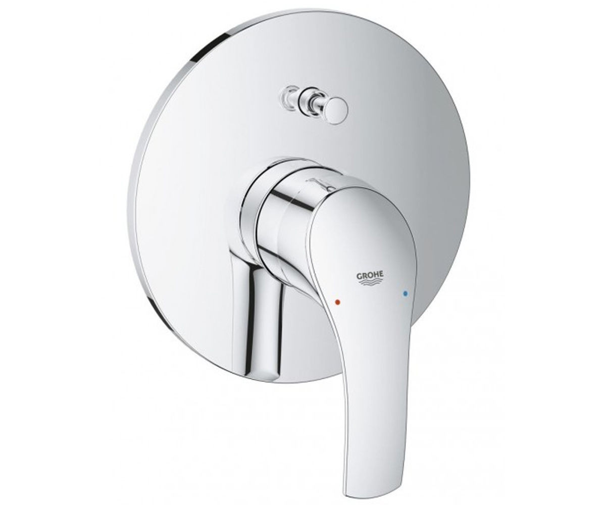 Eurosmart New Смеситель для ванны, однорычажный, встраиваемый без излива