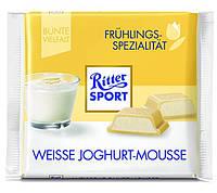 Шоколад Ritter Sport Weisse Joghurt Mousse (Риттер Спорт йогурт мусс), 100 г, фото 1