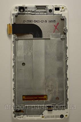 Дисплей Nomi i504 Dream с сенсором White, оригинал, фото 2