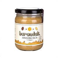 Арахисовая паста с мёдом, ТМ Burunduk, 450 г