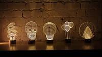 3D Ночники в вашем интерьере