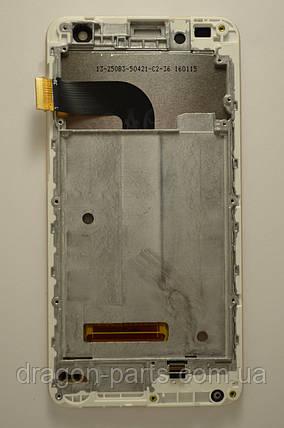 Дисплей Nomi i504 Dream с сенсором Gold, оригинал, фото 2