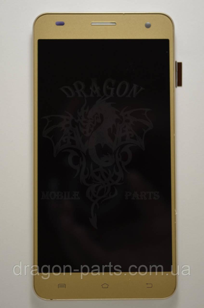 Дисплей Nomi i504 Dream с сенсором Gold, оригинал