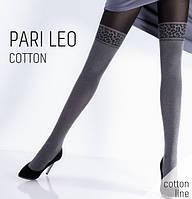 Колготки женские имитация чулков  PARI LEO COTTON 150