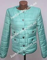 Демисезонная женская куртка в расцветках 10355