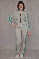 Трикотажный спортивный костюм норма женский