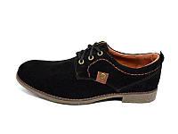 Мокасины нат. кожа замша S.T Fashion Sart 707 Black Размер: 40 43 44