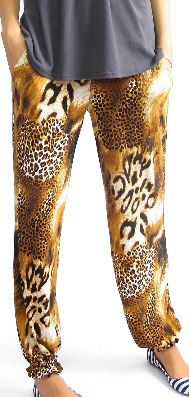 Легкие  женские широкие штаны