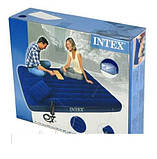 Двомісний надувний матрац INTEX, для всієї родини, фото 2