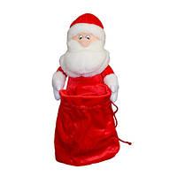 Мягкая игрушка Дед Мороз красный