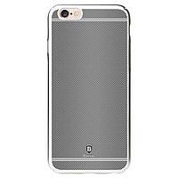 Чехол для iPhone 6/6s Baseus carbon case, серый